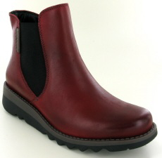 Josef Seibel Lina 05 Red Leather Boot
