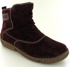 Josef Seibel Neele 38 Bordo Suede Boot
