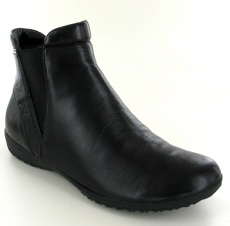 Josef Seibel Naly 20 Black Leather Boot