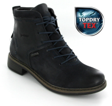 Josef Seibel Selena 50 Ocean (Navy) Leather Boot