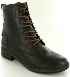 Josef Seibel Selena 06 Olive Leather Boot