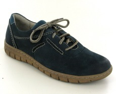 Josef Seibel Steffi Son 07 Blue Leather Shoe
