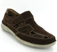 Josef Seibel Anvers 81 Brown Nubuck Shoe