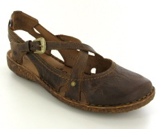 Josef Seibel Rosalie 13 Brandy  Leather Sandal