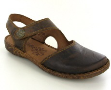 Josef Seibel Rosalie 27 Brandy Leather Sandal