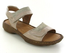 Josef Seibel Debra 19 Sand Leather/Suede Sandal