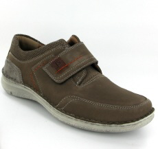 Josef Seibel Anvers 83 Grey Combi Nubuck Shoe