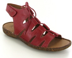 Josef Seibel Rosalie 39 Hibiscus  Leather Sandal
