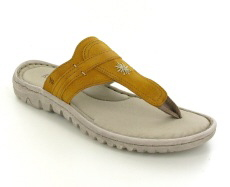 Josef Seibel Lucia 09 Yellow Leather Sandal