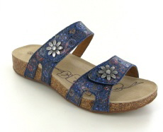 Josef Seibel Tonga 04 Ocean Multi Leather Sandal