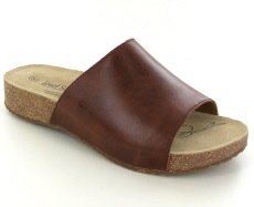 Josef Seibel Tonga 51 Camel Leather Mule