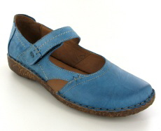 Josef Seibel Rosalie 37 Azur Leather Shoe