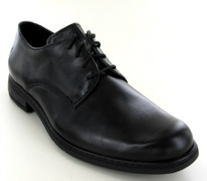 Josef Seibel Kevin 07 Black Leather Shoe - View 1