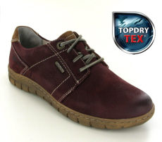 Josef Seibel Steffi 59 Bordo Leather Shoe