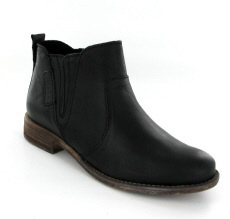Josef Seibel Sienna 45 Black Leather Boot