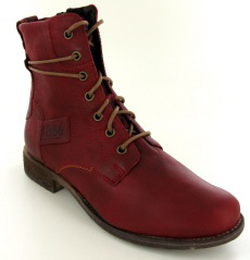 Josef Seibel Sienna 63 Red Leather Boot