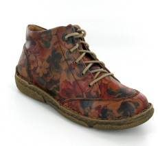 Josef Seibel Neele 01 Carmin Print Leather Boot