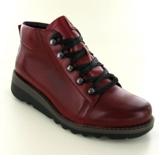Josef Seibel Lina 09 Hibiscus Leather Boot - View 1