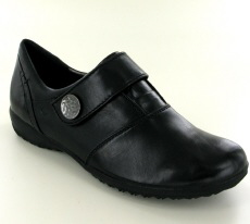 Josef Seibel Naly 21 Black  Leather  Shoe - View 1