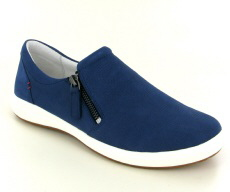 Josef Seibel Caren 22 Blue Nubuck Shoe  - View 1