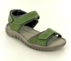 Josef Seibel Lucia 15 Green Leather Sandal