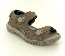 Josef Seibel Lucia 17 Taupe Leather Sandal