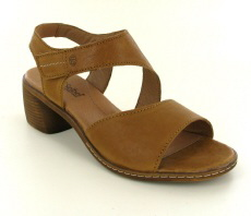 Josef Seibel Juna 02 Camel Leather Sandal