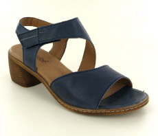 Josef Seibel Juna 02 Blue Leather Sandal