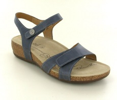 Josef Seibel Natalya 07 Jeans Leather Sandal