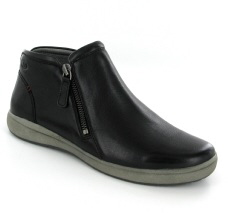 Josef Seibel Caren 09 Black Leather Boot - View 1