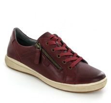 Josef Seibel Caren 12 Bordo Leather Shoe