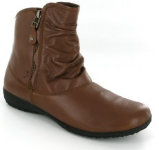Josef Seibel Naly 24 Cognac Leather Boot