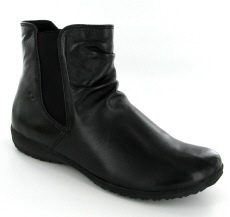 Josef Seibel Naly 31 Black  Leather Boot