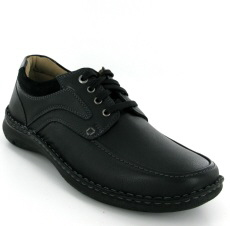 Josef Seibel Anvers 62 Black Leather Shoe