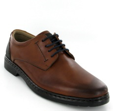 Josef Seibel Alastair 01 Cognac Leather Shoe