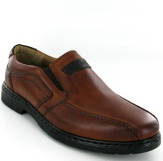 Josef Seibel Alastair 03 Cognac Leather Shoe