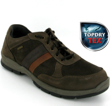 Josef Seibel Lenny 51 Brown Nubuck Combi  Shoe