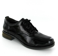 Josef Seibel Sanja 08  Black Patent Leather Shoe