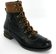 Josef Seibel Sanja 09 Ocean (Navy)  Leather Boot