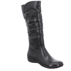 Josef Seibel Naly 23 Black   Leather Boot