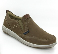 Josef Seibel Enrico 04 Taupe Leather Shoe