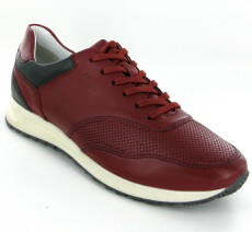 Josef Seibel Thaddeus 10 Red Combi Leather Sneaker