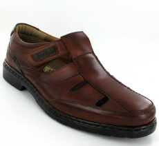 Josef Seibel Alastair 08 Cognac Leather Shoe