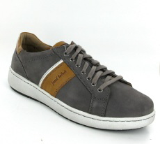 Josef Seibel David 01 Grey Nubuck Shoe